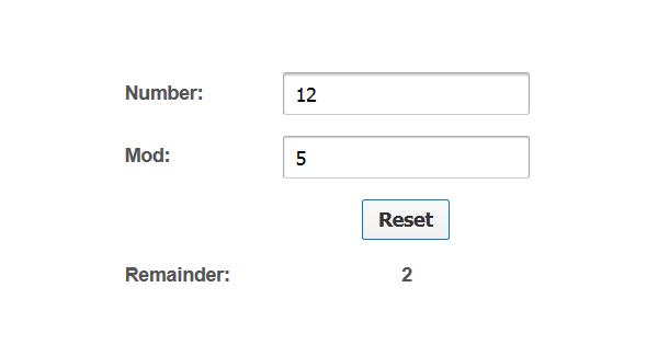 Modulo Calculator | Remainder Calculator | All Numbers